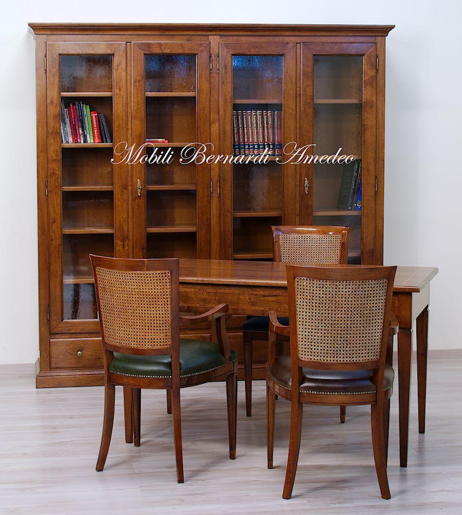 Librerie in legno massello 14 librerie for Libreria per scrivania