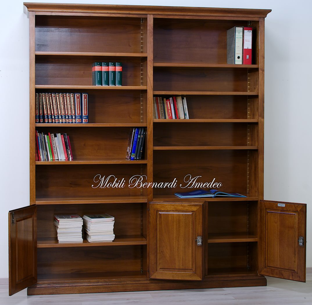Librerie in legno massello 14 librerie for Scaffalatura libreria