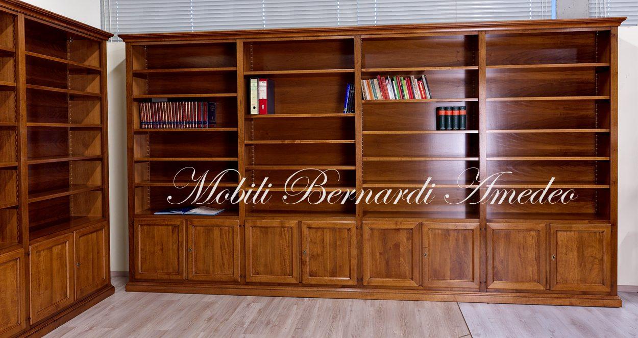 Ripiani Legno Su Misura.Librerie In Legno Su Misura Librerie