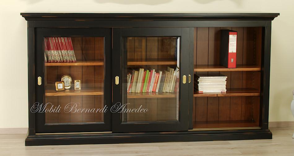 Credenza Con Libreria : Librerie con ante scorrevoli