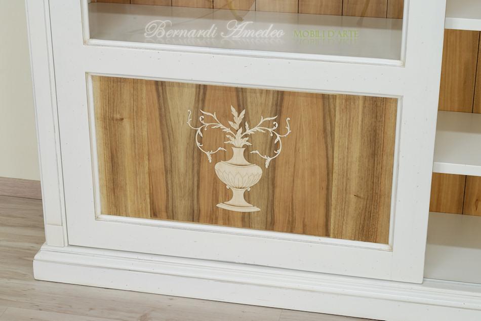 pannelli in legno intarsiato : Librerie in legno 8 Librerie