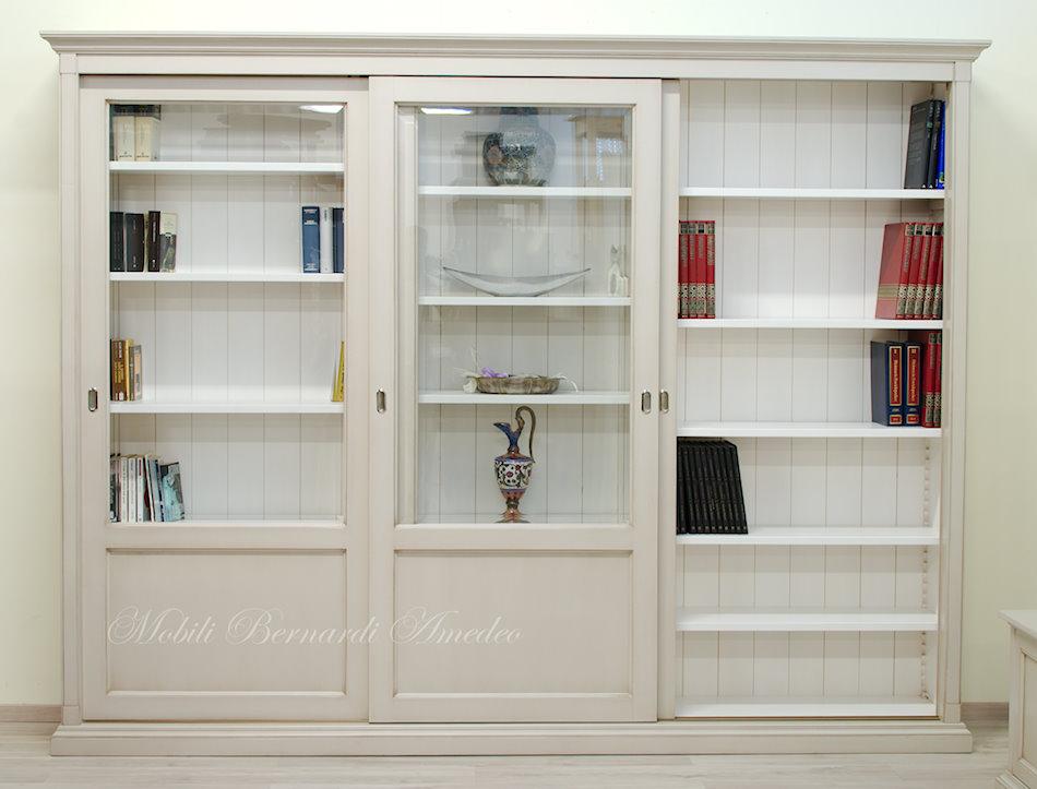 Libreria Chiusa Con Ante In Vetro.Librerie Con Ante Scorrevoli 11 Librerie