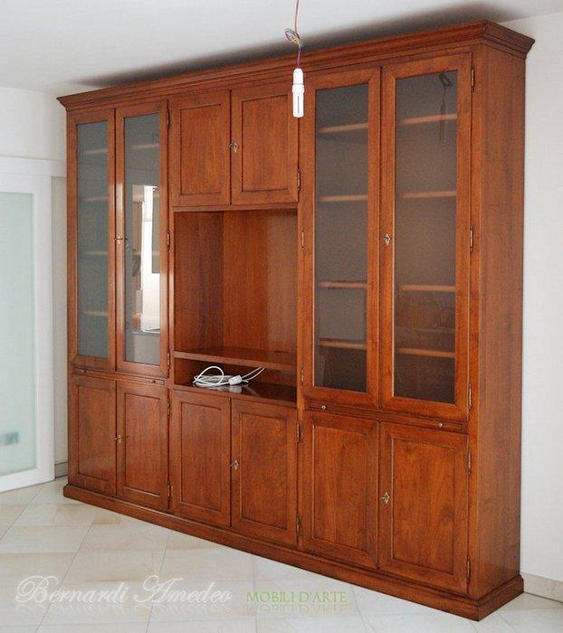 Libreria con porta tv librerie - Libreria con porta ...