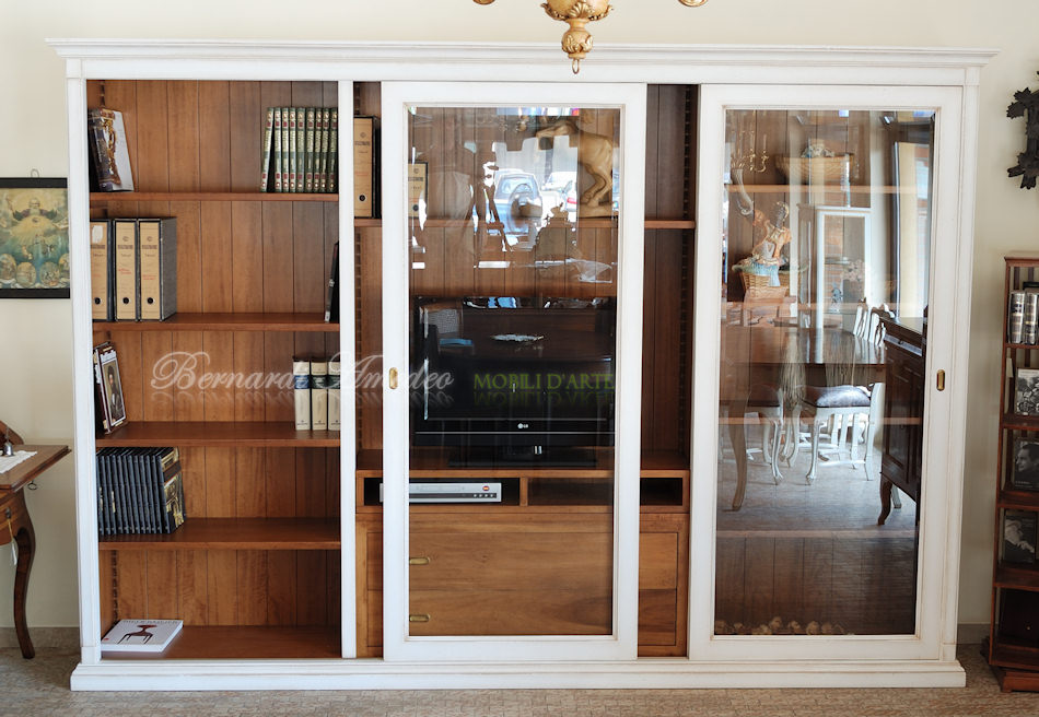 Librerie in legno 9 librerie - Mobili porta dvd ...