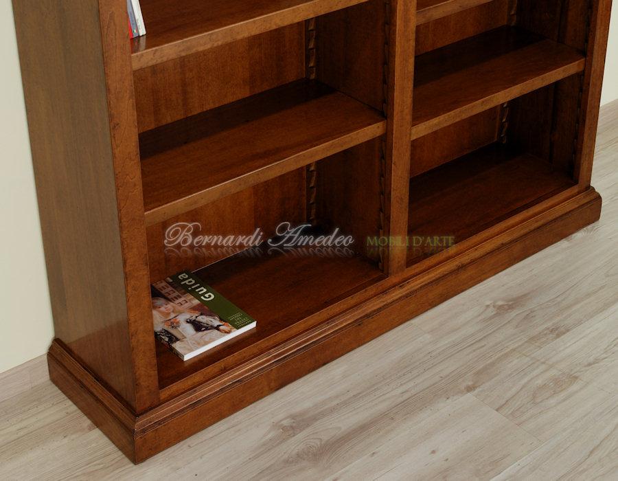 Librerie in legno 8 librerie for Vetrinetta bassa arte povera