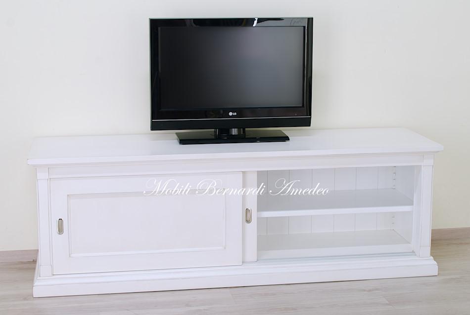 Mobile Tv Con Ante Scorrevoli.Mobili Tv Colorati 3 Porta Tv