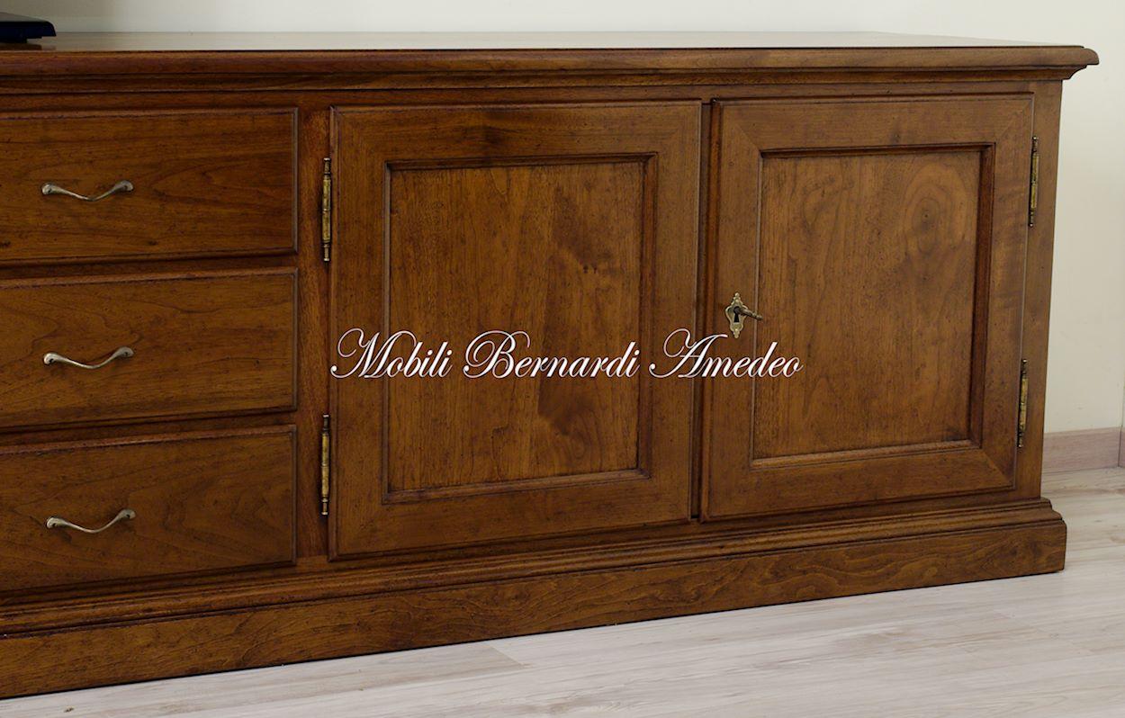 Mobili tv in legno massello 5 porta tv - Porta in legno massello ...