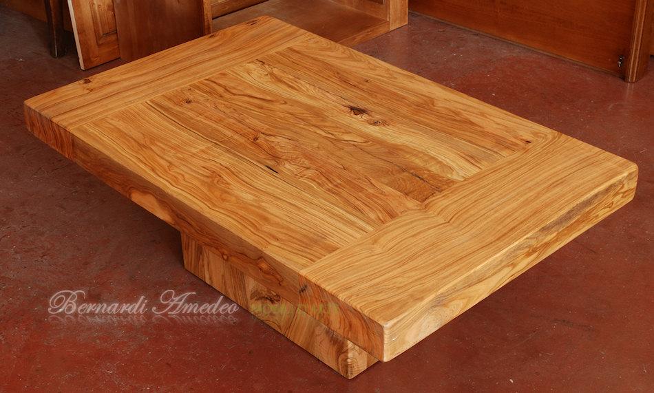 Tavolini da salotto legno massiccio | Tavolini