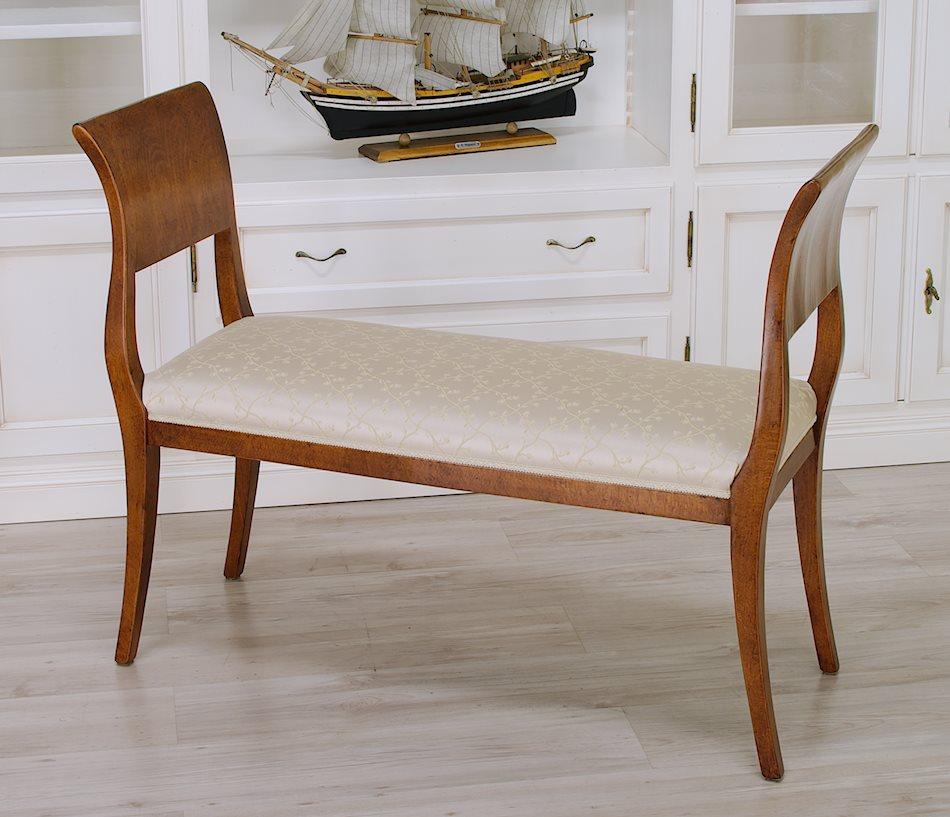 Panchette tappezzate sedie poltroncine divanetti - Sedie da camera da letto ...