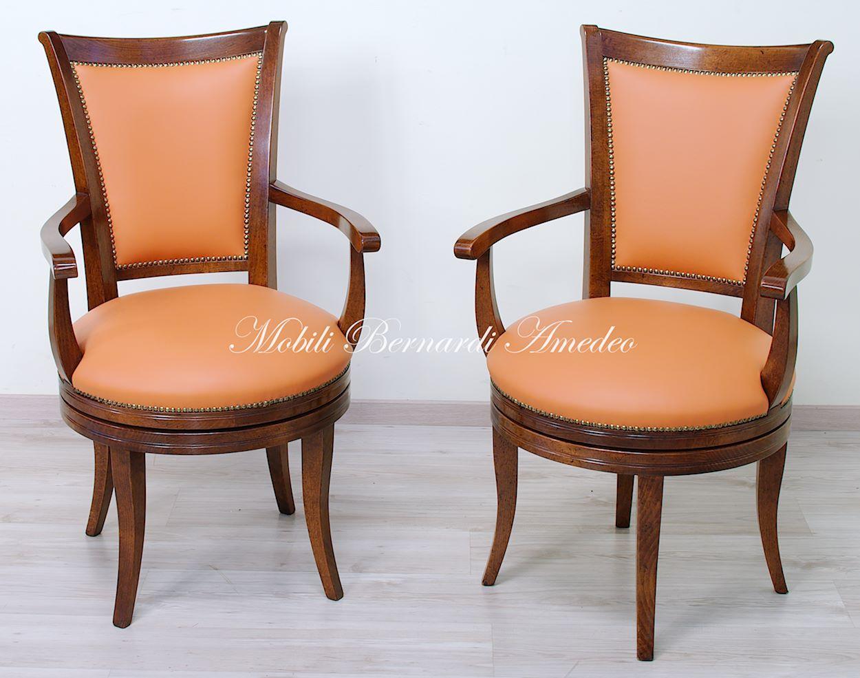 Poltrone girevoli sedie poltroncine divanetti for Poltrone girevoli