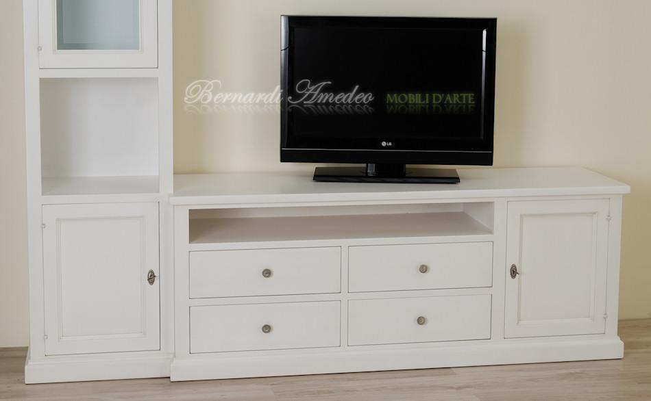 Porta Tv in legno laccati 2 | Porta TV