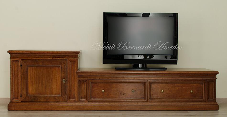 porta tv serie segreti 2 | porta tv - Soggiorno Noce Massello 2