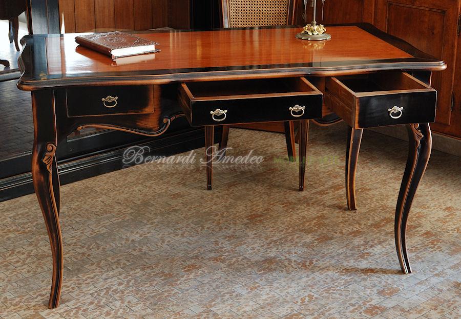 Emejing scrivania legno massello pictures - Scrivanie legno design ...