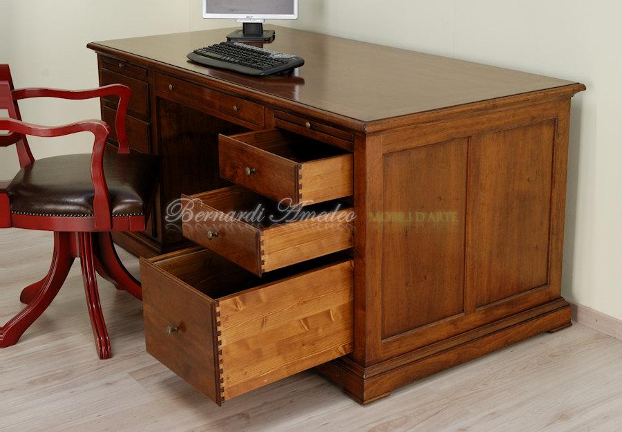 Trendy scrivania in noce stile classico with scrivanie da camera - Scrivanie da camera ...