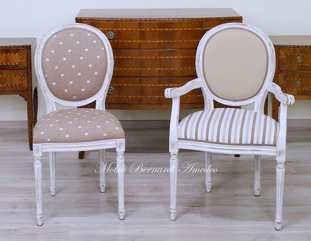 Sedie in stile 14 | Sedie poltroncine divanetti