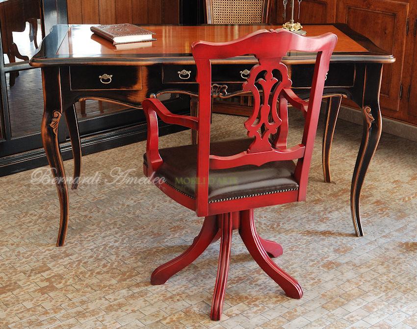 Poltrone girevoli sedie poltroncine divanetti for Sedie girevoli