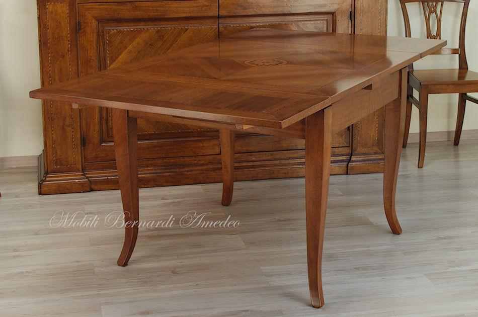 tavoli in noce allungabili 1 | tavoli - Tavolo Allungabile Rettangolare