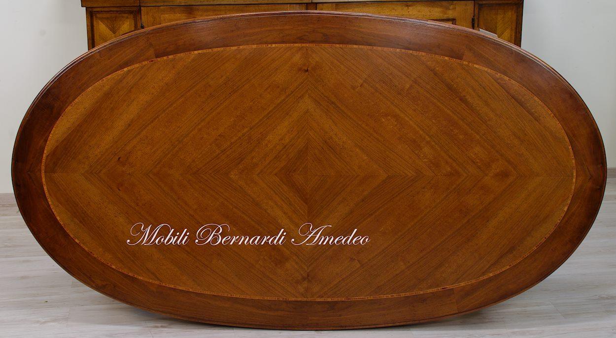 Tavoli rotondi fissi tavoli di vetro rotondi bontempi tavolo design allungabile for Tavoli ovali ikea