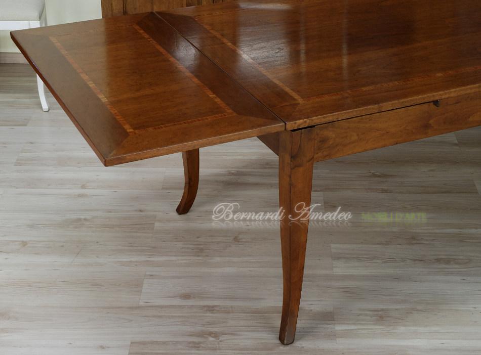 Tavoli in noce allungabili 6 tavoli for Tavolo legno noce nazionale