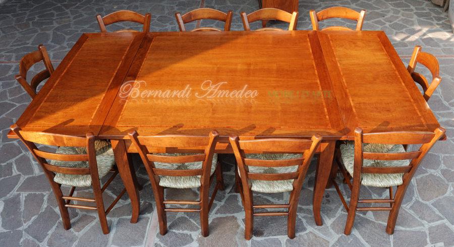 Tavoli allungabili in legno 13 tavoli - Tavolo quadrato allungabile legno ...