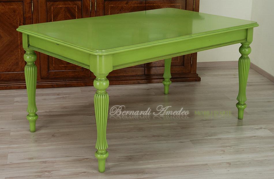 Tavoli da cucina allungabili colorati una collezione di - Pomelli colorati per mobili ...