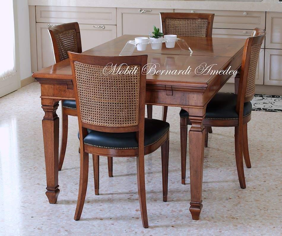 Tavolo classico allungabile 14 tavoli - Sedie per tavolo fratino ...