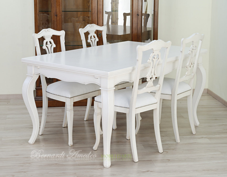 Tavoli allungabili laccati colorati tavoli for Tavolo da sala allungabile