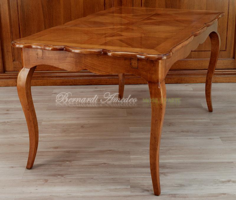 Tavoli in ciliegio allungabili 17 tavoli - Tavolo allungabile classico ...