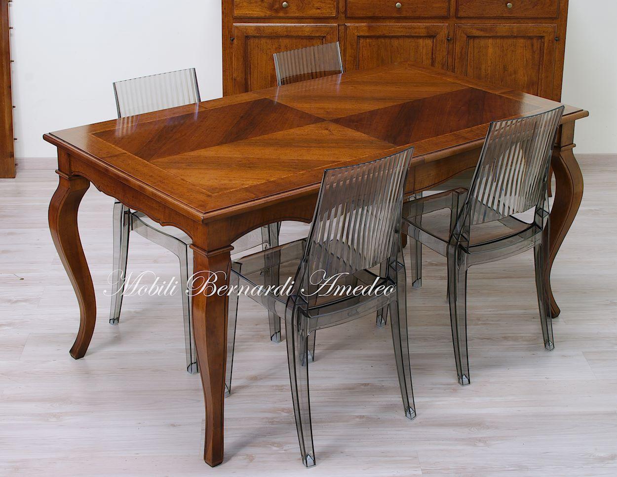 Tavoli con allunghe 21 tavoli - Tavolo allungabile classico ...