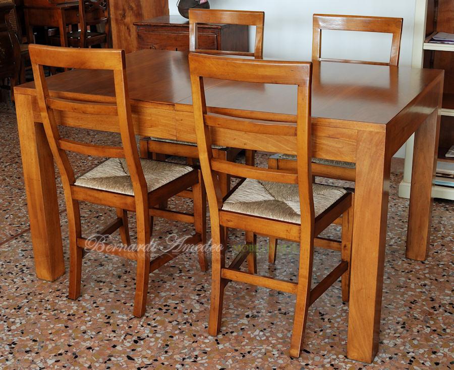 Tavoli allungabili in legno 13 tavoli for Tavoli in legno allungabili