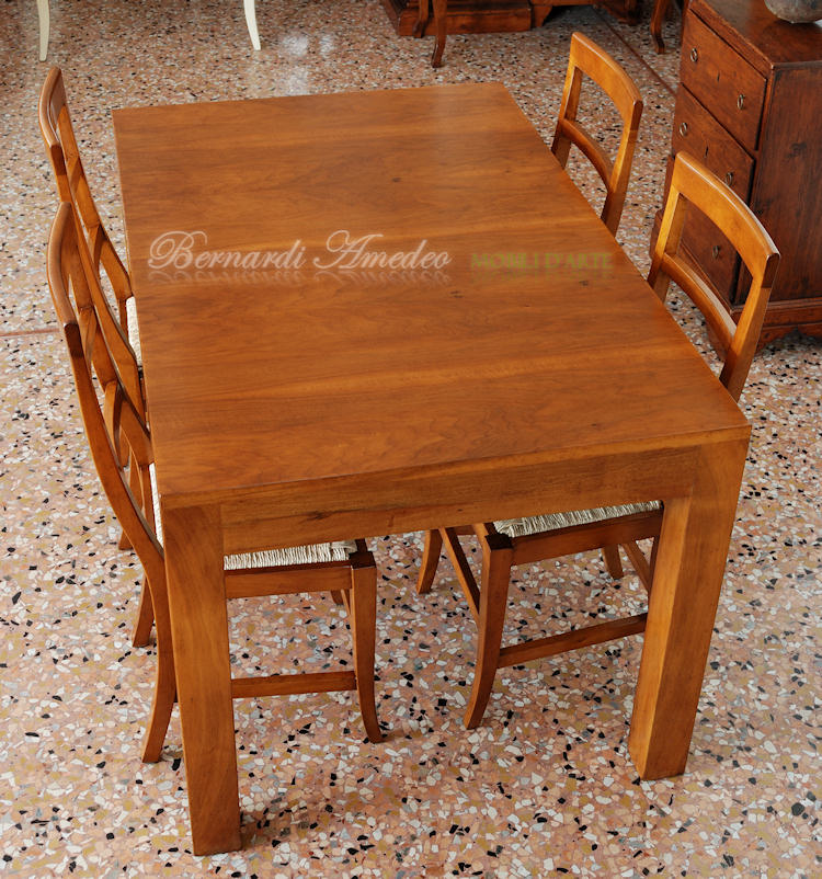Tavoli allungabili in legno 13 tavoli - Tavoli artigianali in legno ...