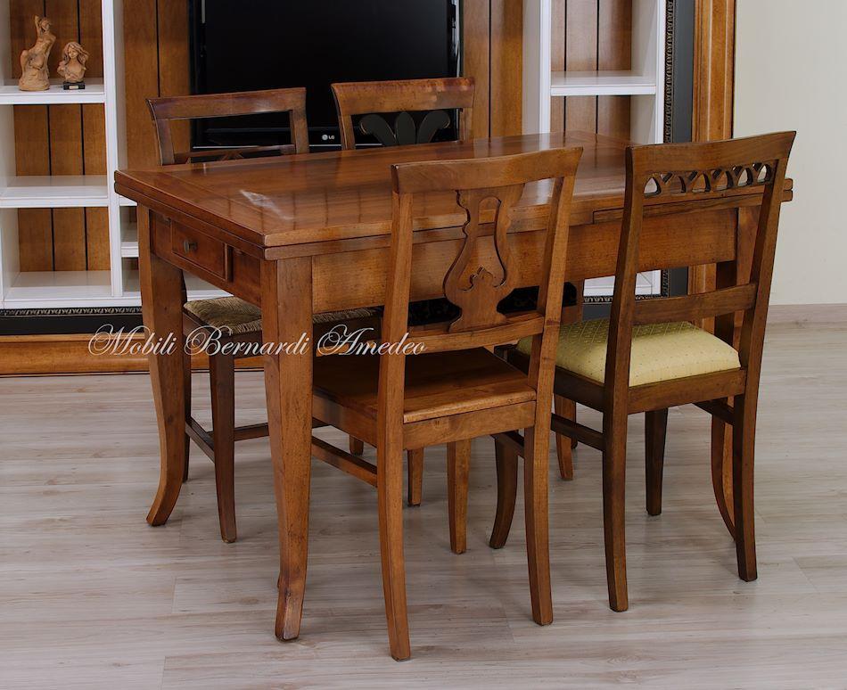 Tavoli allungabili piccoli in stile tavoli for Tavoli allungabili
