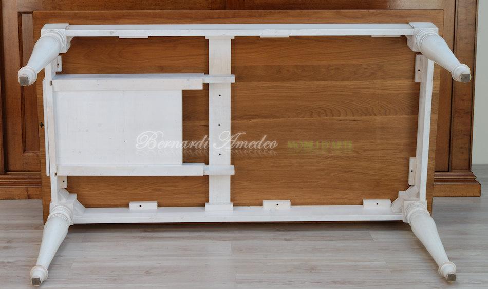 tavolo da cucina in rovere massello e abete | tavoli - Tavoli Da Cucina In Legno Massiccio