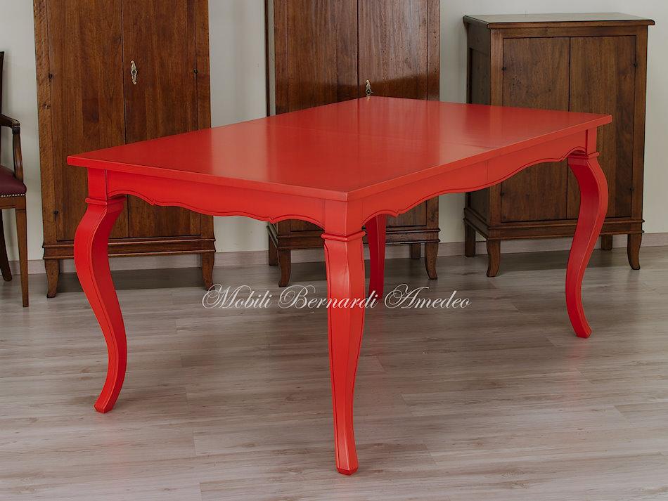 Tavolo Da Pranzo Rosso ~ Idee Creative di Interni e Mobili