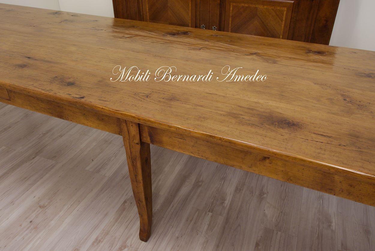 Tavoli in legno massello vecchio riciclato recuperato tavoli - Seggiolini da tavolo prezzi ...