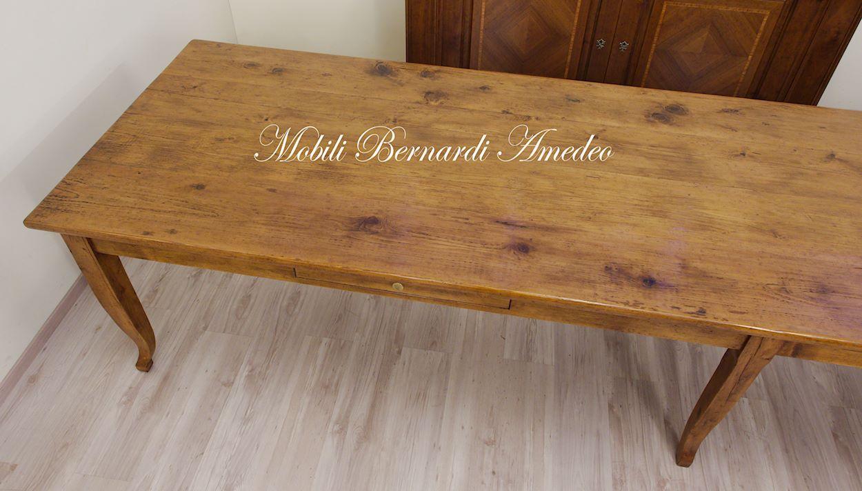 Tavoli in legno massello vecchio riciclato recuperato tavoli - Tavoli in legno vecchio ...