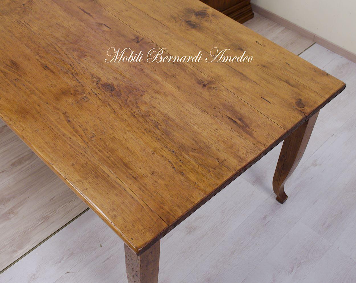 Tavoli in legno massello vecchio riciclato recuperato  Tavoli