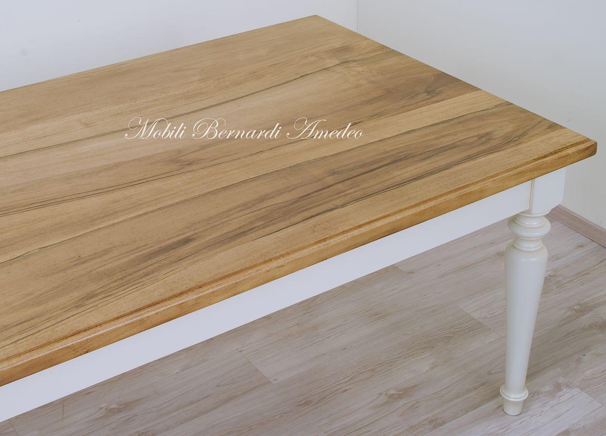 Tavoli da pranzo in legno massello tavoli - Piantana per tavolo da pranzo ...