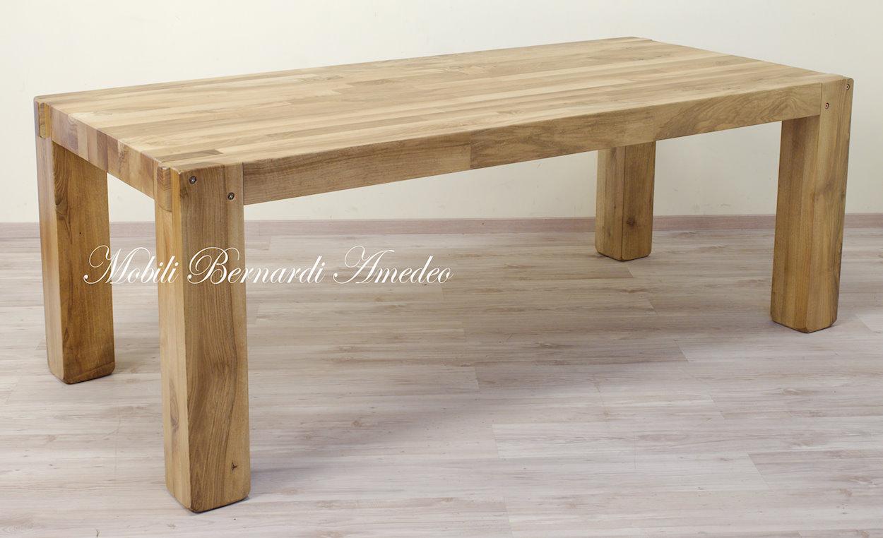 Credenza Moderna In Legno Massello : Tavolo moderno in noce massello tavoli