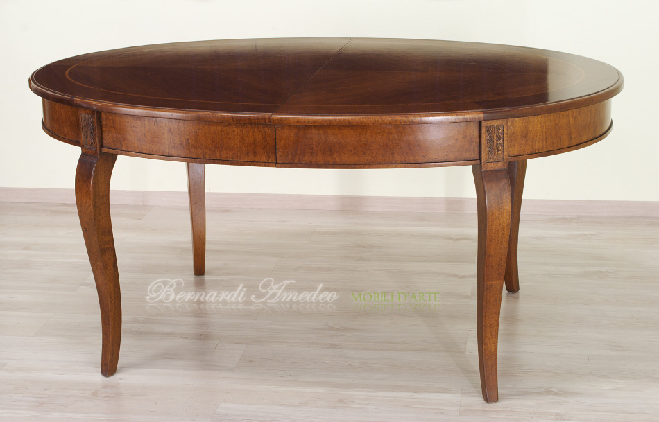 Tavolo rotondo allungabile 4 tavoli - Tavoli da pranzo antichi ...