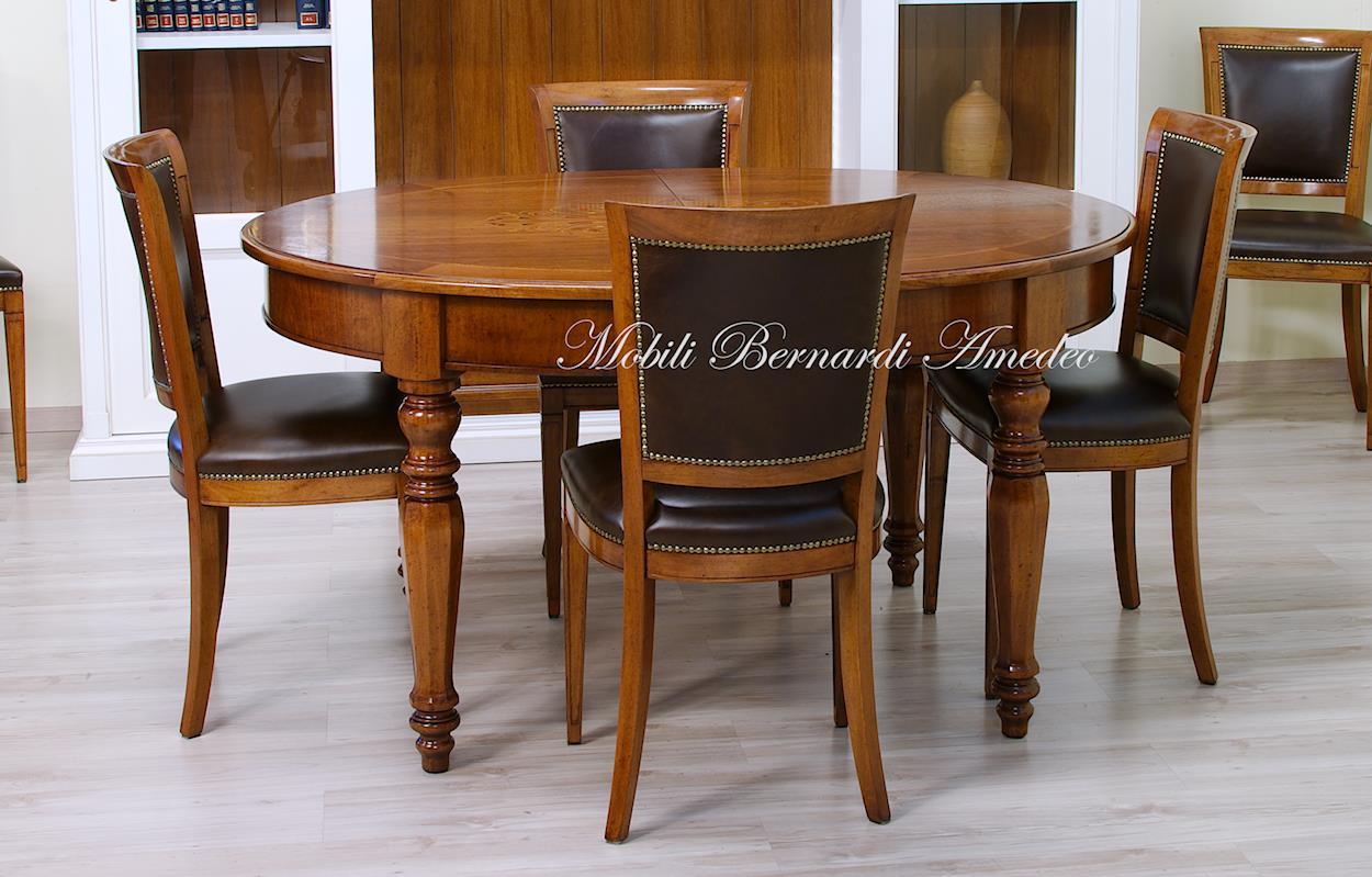 Tavolo Con Gamba Centrale Allungabile tavoli ovali e rotondi 8 | tavoli