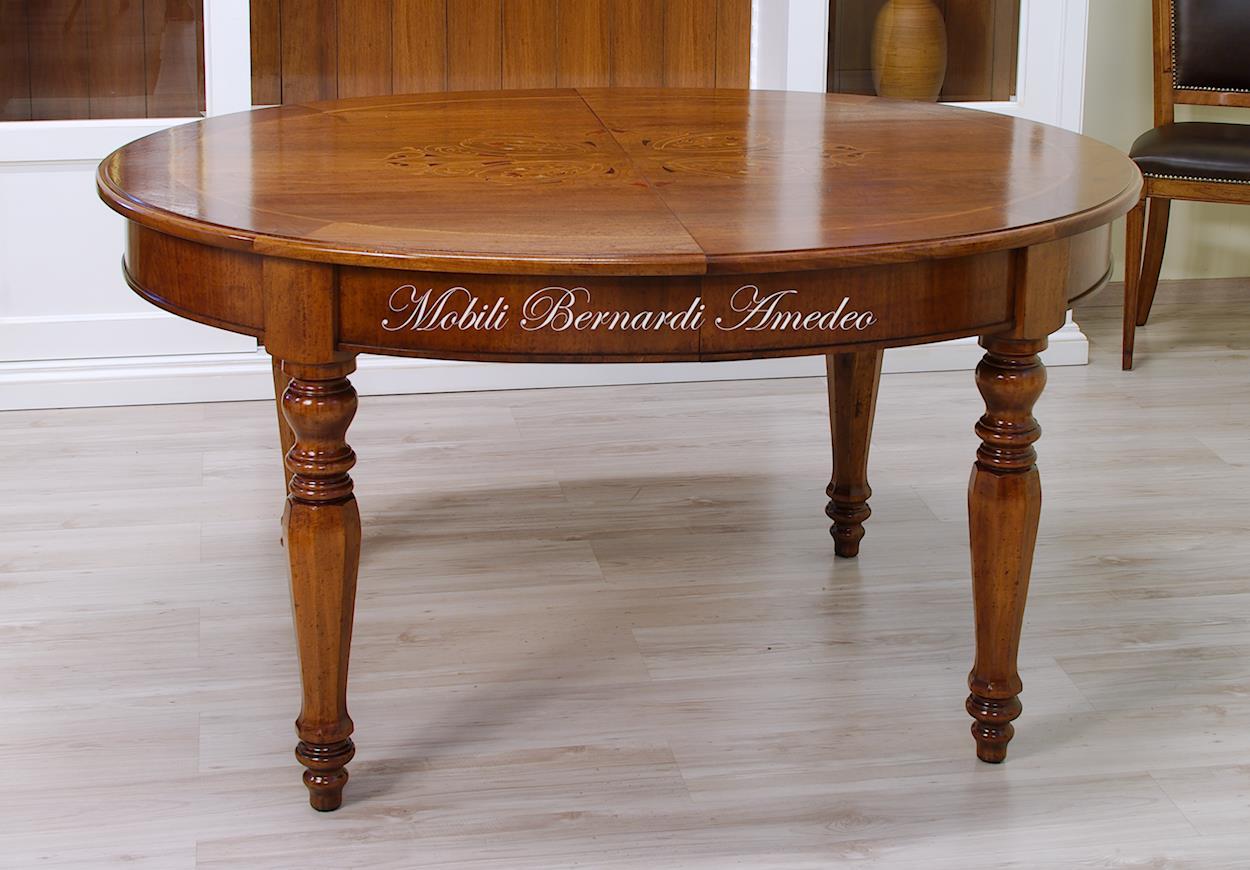 Tavoli ovali e rotondi 8 tavoli - Tavolo consolle allungabile mercatone uno ...