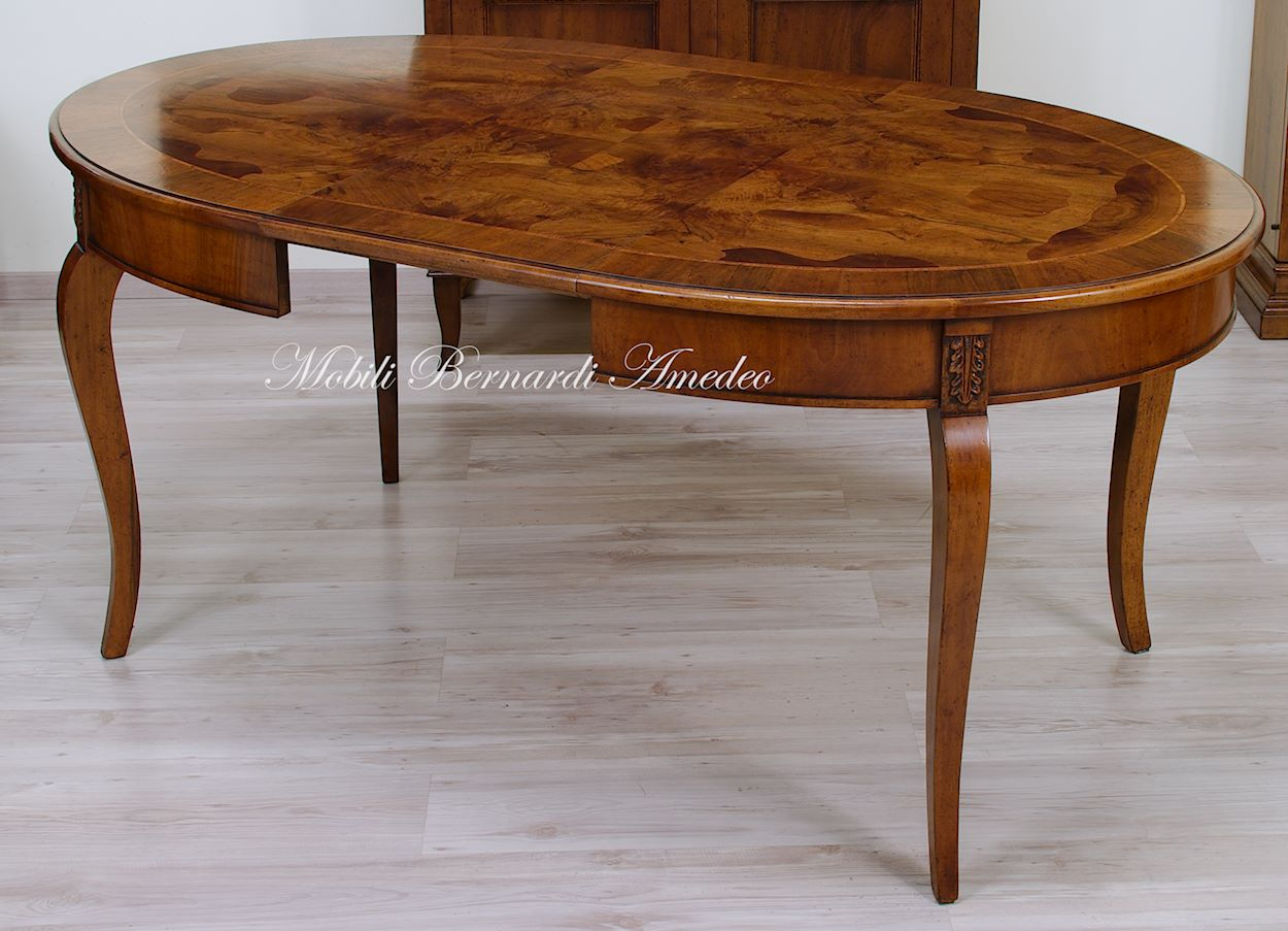 Tavoli ovali e rotondi allungabili 11 tavoli - Tavoli ovali allungabili antichi ...