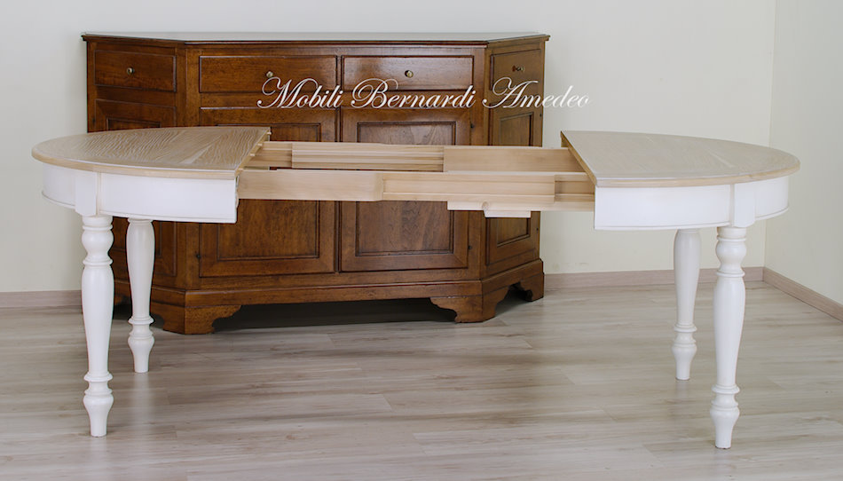 Tavolo Ovale Bianco : Tavoli stile classico rotondi e ovali 6 tavoli