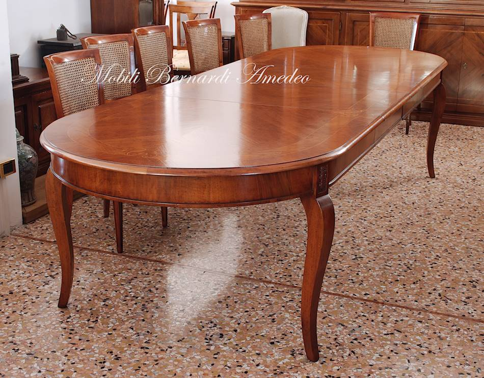 tavoli allungabili ovali e rotondi 7 tavoli