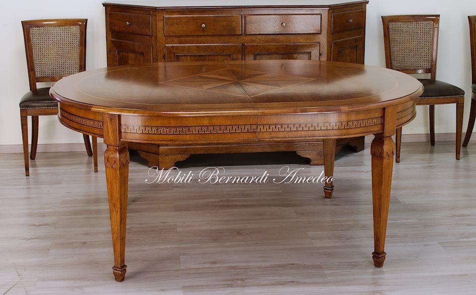 Tavoli allungabili ovali e rotondi 7 tavoli - Tavolo ovale allungabile ...