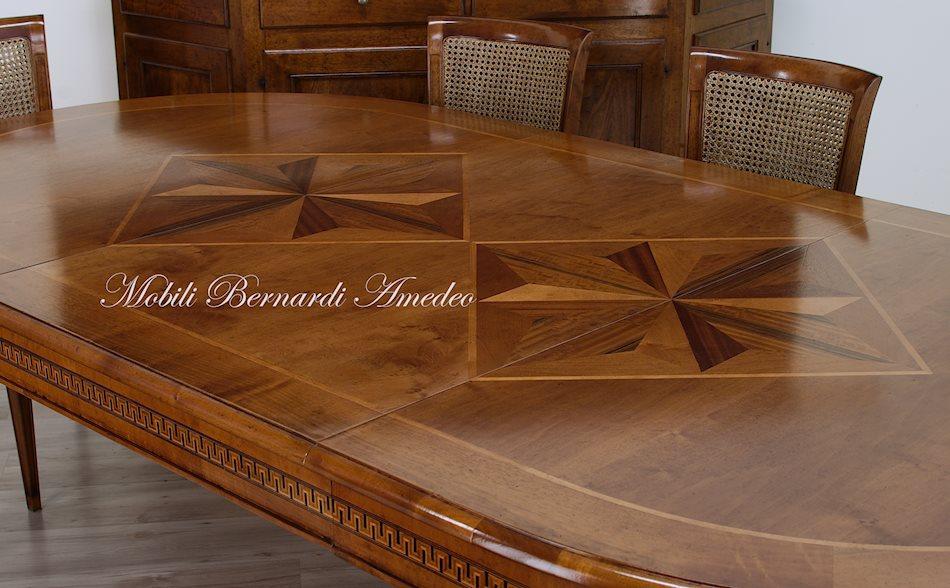 Tavoli Da Pranzo Antichi : Tavoli allungabili ovali e rotondi tavoli
