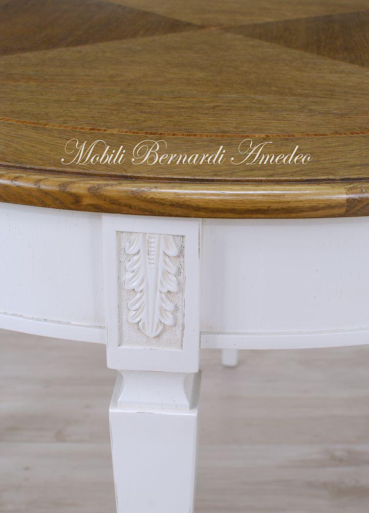 Tavolo rotondo bianco allungabile tavoli da pranzo allungabili design tavolo rotondo bianco - Tavoli ovali ikea ...