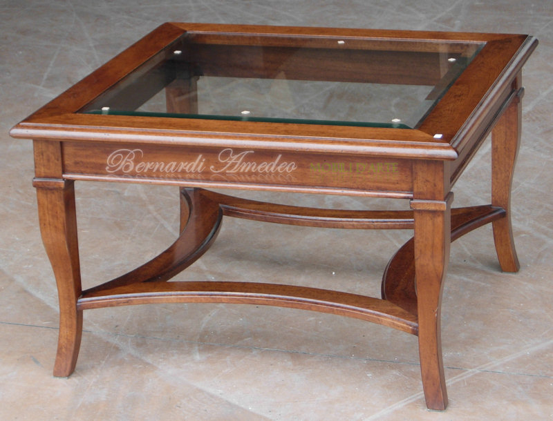 Tavolini Da Salotto Classici In Legno.Tavolini Da Salotto 2 Tavolini