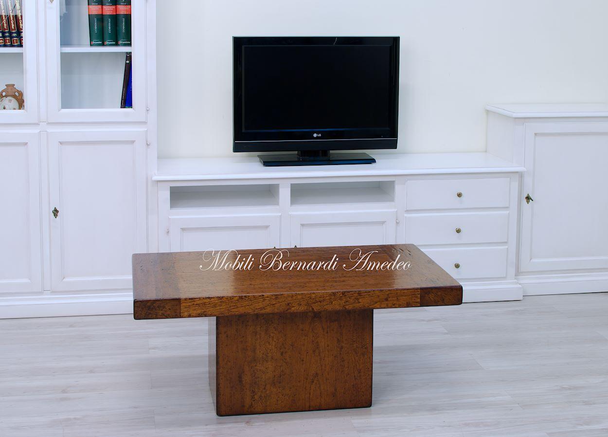 Tavolini da salotto legno massiccio tavolini for Foto salotto
